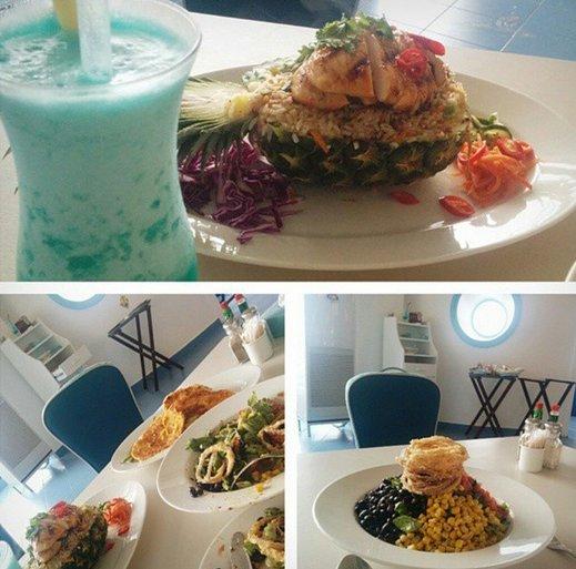 مطعم بلو اوشن