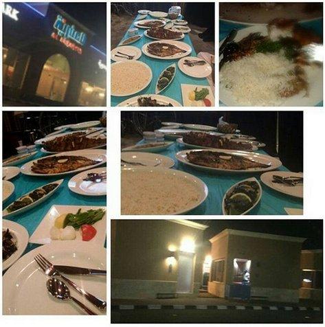 مطعم اسماك العنبرية للمأكولات البحرية