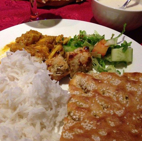 مطعم الرحمة الباكستاني