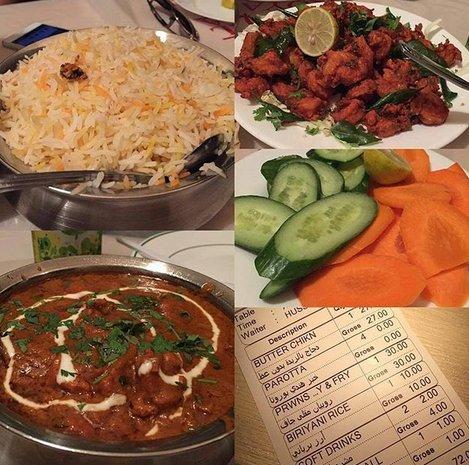 مطعم الهندي رويال الذهبية