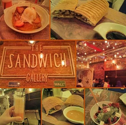 مطعم ذا ساندوتش جاليري