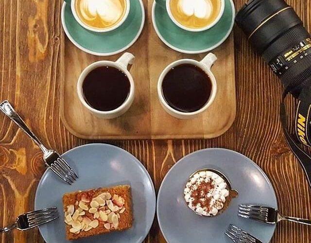 مقهى ومحمصة مد