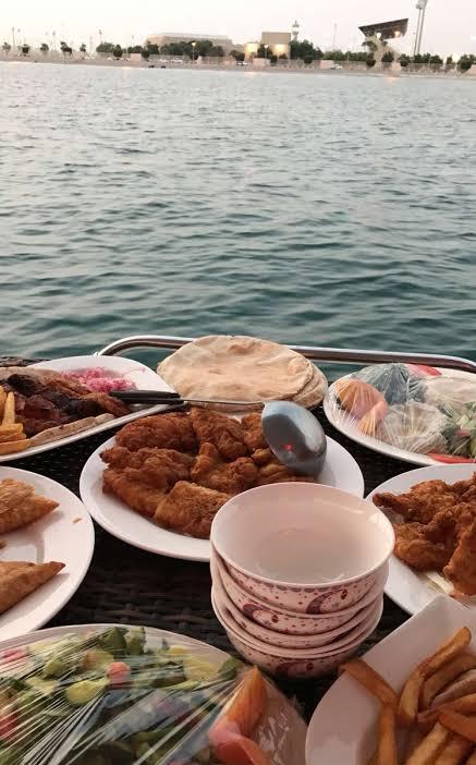 منيو مطعم الاحلام العائم جدة